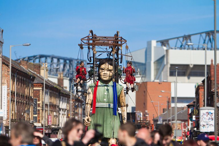 Photography of the Giant Spectacular Sea Odyssey event in Liverpool 2012 - by Liverpool photographer Fotopia.