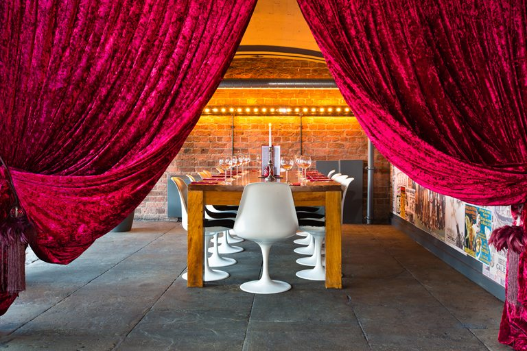 Circo Bar and Restaurant - Albert Dock - Liverpool - Private Dining Area